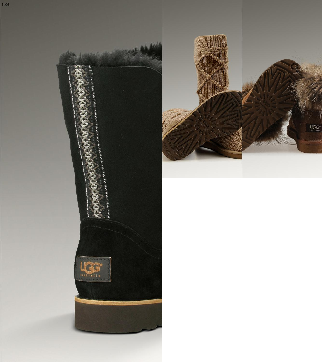 ugg strass noeud
